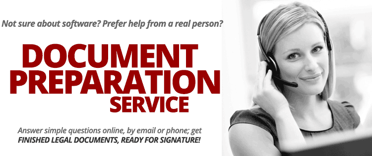 Document Preparation Services: ready-to-sign documents created by Professionals from Standard Legal