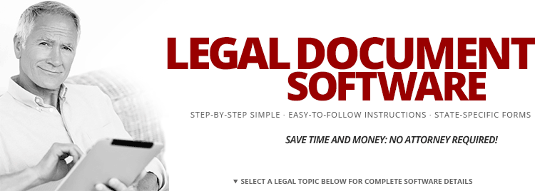 standard legal software do it yourself law forms documents With legal document software