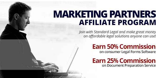 APPLY NOW: The Marketing Partners Affiliate Program by Standard Legal