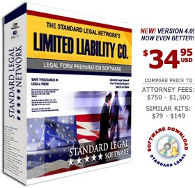 LLC Legal Forms Software from Standard Legal