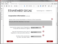 Amendment to Corporation software question 2
