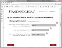 Amendment to LLC software question 1