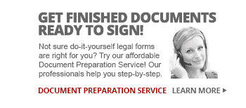Have a Paralegal Help You Create Completed Legal Documents