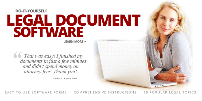 Do It Yourself Legal Forms Software